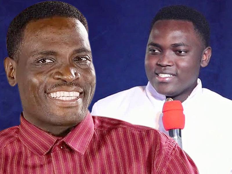 Pastor Yiga Augustine & his son Jengo Andrew.